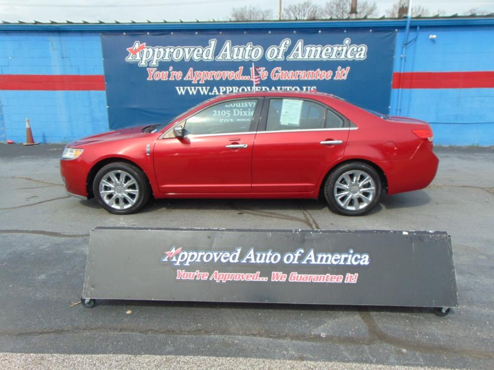 2012 Red Lincoln MKZ (3LNHL2JC9CR) with an V6 3.5 Liter engine, Automatic, 6-Spd w/SelectShift transmission, located at 2105 Dixie Hwy, Louisville, KY, 40210, (502) 772-3333, 38.221058, -85.792671 - Photo #0